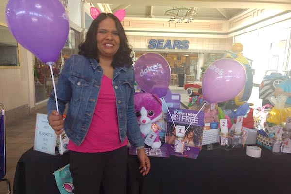 Pictured is Candice Tiwari, the store manager of Claire's.