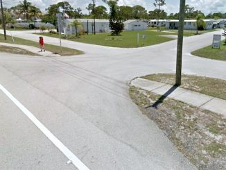 Shady Rest mobile home park in Sebastian.