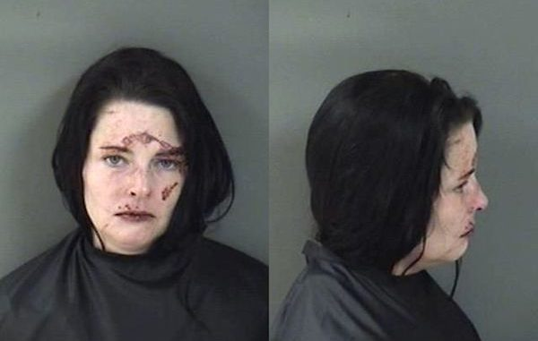 "A Sebastian woman who has a tattoo on her lower back that declares ""Only I can judge me"" is back behind bars."