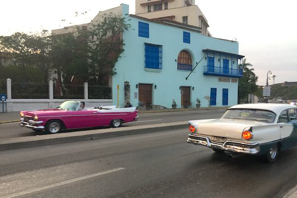 Classic cars everywhere in Havana, Cuba.
