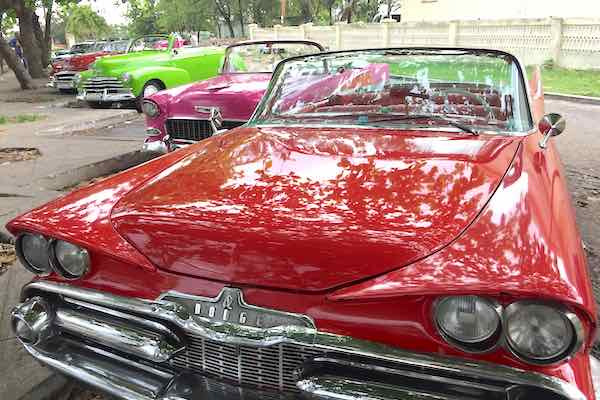 Havana was like a time warp. Classic cars everywhere.