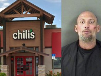 Man punches cars and challenges people to a fight at Chili's in Vero Beach.