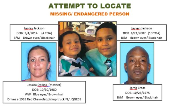 Indian River County Sheriff's Office are attempting to locate two missing children last seen in Vero Beach.