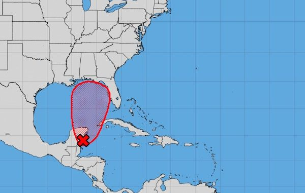Alberto forms in the Gulf, flooding rains forecast