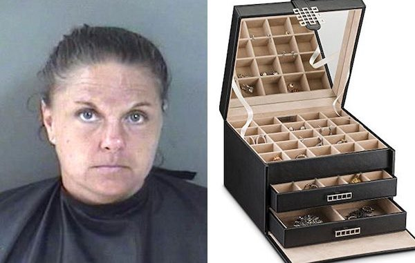 Housekeeper charged with grand theft in Vero Beach.