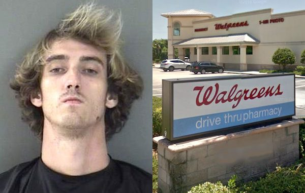 Man tries to buy Oxycodone using a fraudulent prescription at a Walgreens in Sebastian.