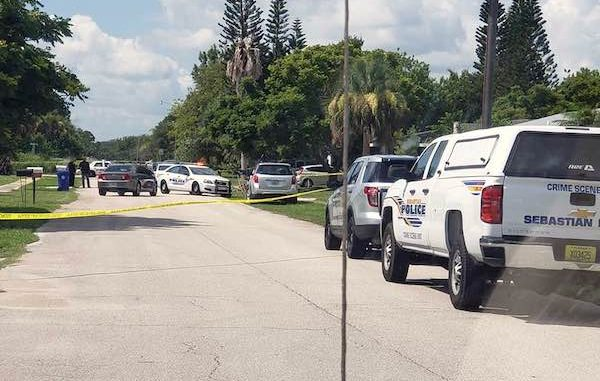 A man was found dead of a suicide at his neighbor's home in Sebastian, Florida.
