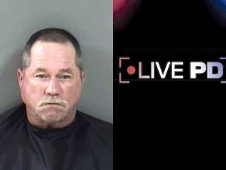 Man chased woman around with a golf club in Sebastian.
