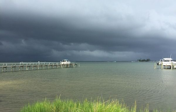 Storm causes problems for many boaters along the river in Sebastian, Florida.