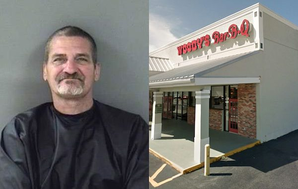 Man punches Woody's employee in Sebastian, Florida.