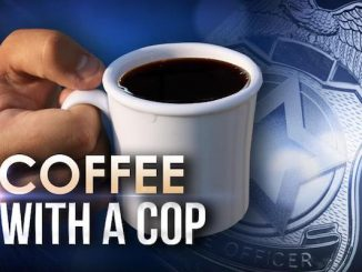 Coffee With a Cop in Sebastian, Florida.