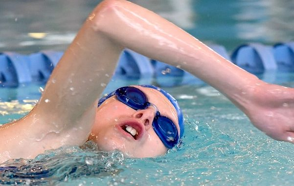 Special Olympics of Indian River County swim meet in Sebastian, Florida.