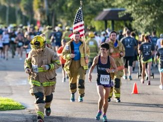 Tunnel to Towers 5K Run & Walk at Riverside Park in Vero Beach, Florida.