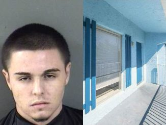 A man was arrested with a stash of drugs at his apartment in Vero Beach, Florida.