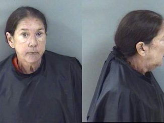 A woman was arrested at Walmart after crashing her car into a light pole in Vero Beach, Florida.