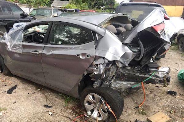 Drunk driver hits Vero Lake Estates family.