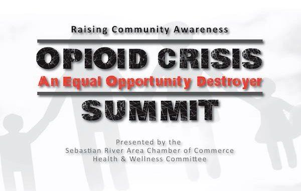 Opioid Crisis Summit in Sebastian, Florida.