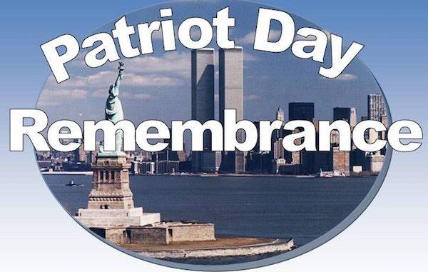 Patriot Day Remembrance in Sebastian, Florida.