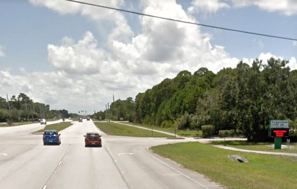 Police investigate fatal traffic accident in Sebastian, Florida.
