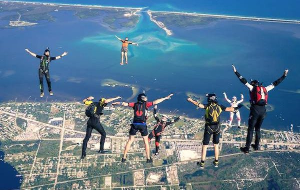USPA National Parachuting Championships hosted at Skydive Sebastian in Florida.