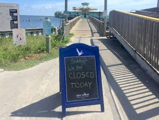 Squid Lips closes Tuesday after health inspection in Sebastian, Florida.