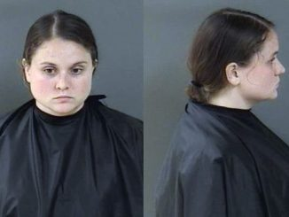 Woman arrested after keeping a dog caged for an extended amount of time without food or water in Vero Beach, Florida.