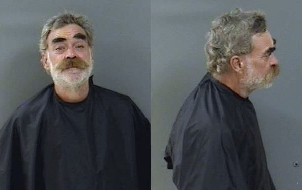 One man was arrested after chugging a bottle of vodka in front of police in Vero Beach, Florida.