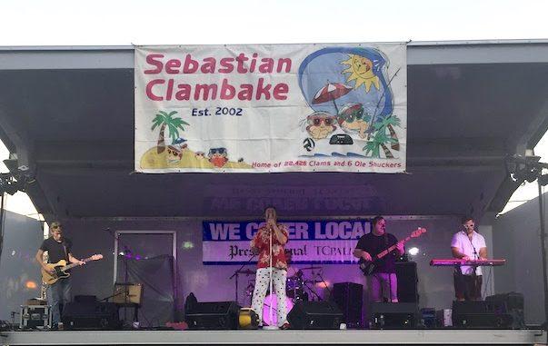 2018 Sebastian Clambake in Sebastian, Florida.