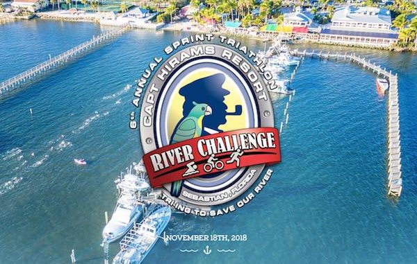 Capt. Hiram's set to host 6th Annual River Challenge Triathlon in Sebastian, Florida.