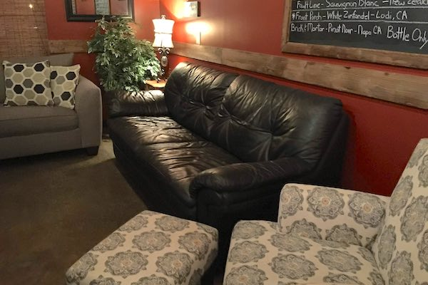 Couches and multiple seating areas.