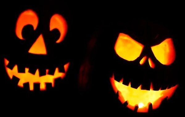 Annual Half-Haunted Halloween event in Vero Beach, Florida.
