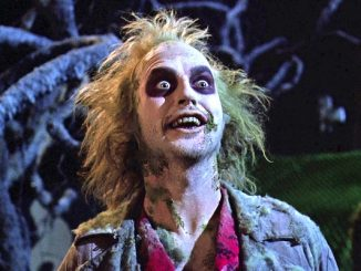 Beetlejuice 30th anniversary playing at Majestic 11 movie theater in Vero Beach, Florida.