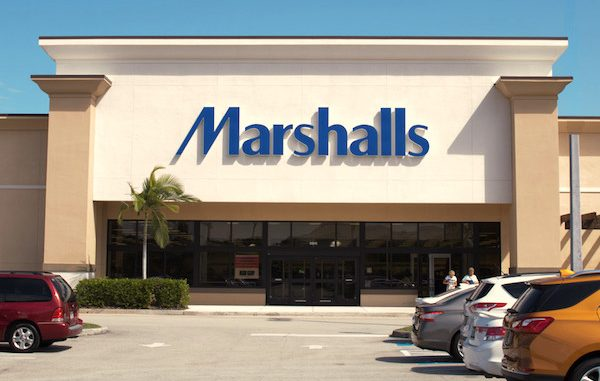 Man approaches woman at Marshalls promising good fortune in Vero Beach, Florida.