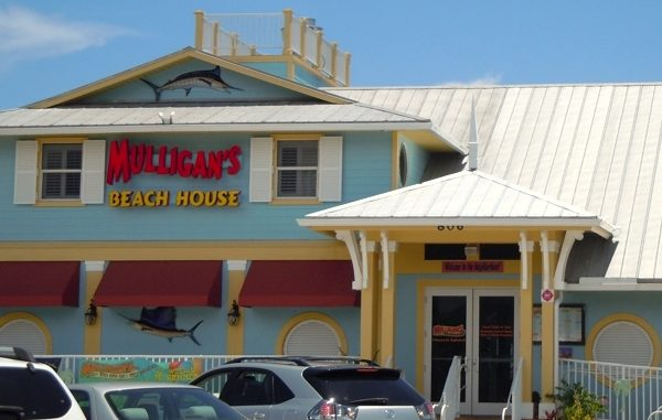 Mulligan's Beach House health inspection rating in Sebastian, Florida.