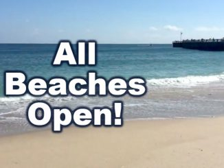 Sebastian Inlet, Vero Beach, and others beaches in Indian River County are now open. No more red tide.
