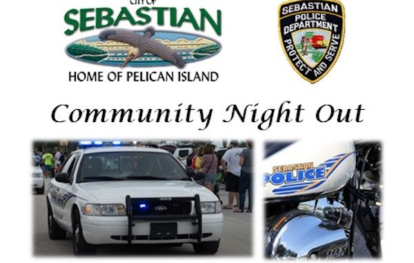 Community Night Out in Sebastian, Florida.