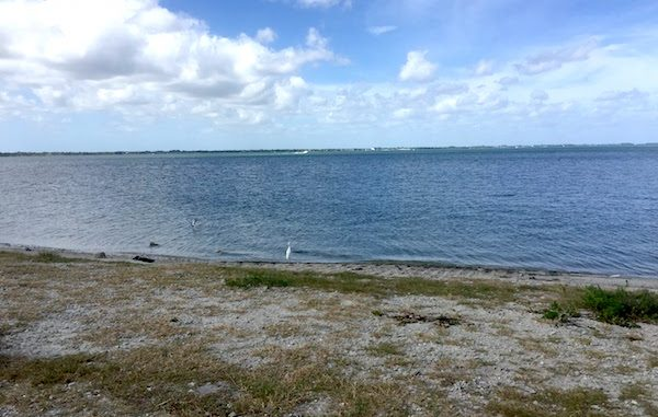 Cooler temperatures Monday in Sebastian, Florida.
