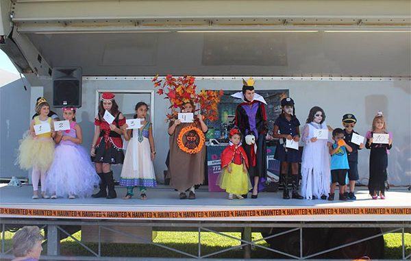 Costume contest at Riverview Park in Sebastian, Florida.