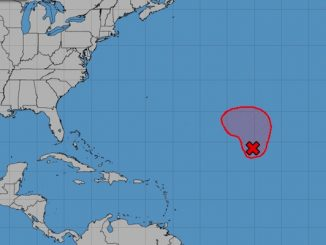 Tropical cyclone is no threat to Sebastian or Vero Beach, Florida.