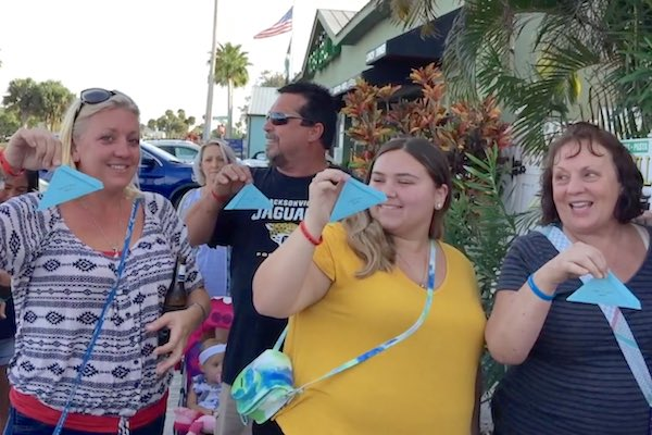2nd Annual Butterfly Release at Earl's Hideaway Lounge in Sebastian, Florida.