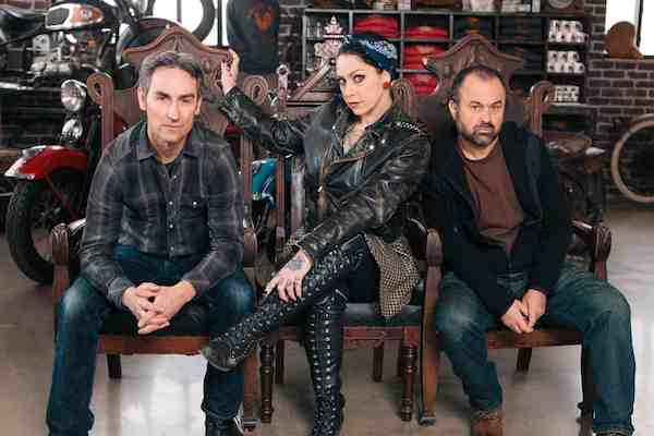 American Pickers TV crew.