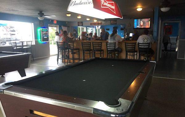 Boathouse Pub in Grant, Florida.