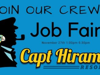 Captain Hiram's Job Fair in Sebastian, Florida.