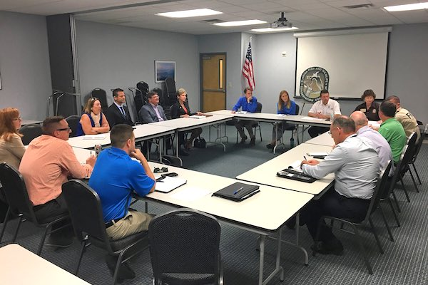 FWC and county partners to discuss continued red tide response.