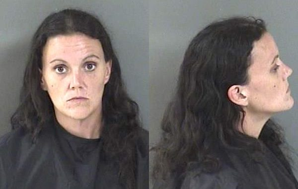 A woman asked a Walmart employee to load stolen merchandise into her vehicle in Sebastian, Florida.