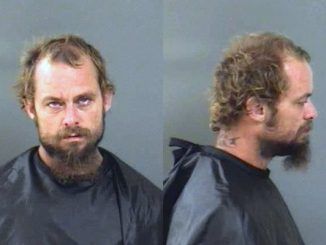 A man was arrested on charges on disorderly intoxication in Vero Beach, Florida.