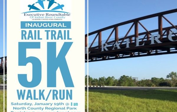 Executive Roundtable of Indian River County Hosts 5K over pedestrian bridge.