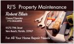 RJ'S Property Maintenance Services Inc. Home Services