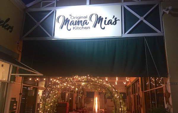 Original Mama Mia's Kitchen in Vero Beach, Florida.