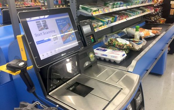 Stealing from Walmart self-checkout is a criminal charge that will remain on your record for life.